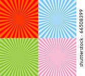 set of radiant backgrounds | Shutterstock . vector #66508399
