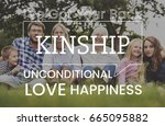 family parentage home love... | Shutterstock . vector #665095882