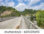 cement road and  highway | Shutterstock . vector #665105692