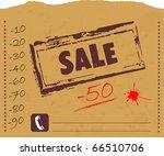 sale | Shutterstock .eps vector #66510706
