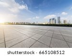 panoramic skyline and buildings ... | Shutterstock . vector #665108512