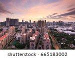 xiamen hecuo xiabao community... | Shutterstock . vector #665183002