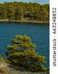 the archipelago sea is finland... | Shutterstock . vector #665248852