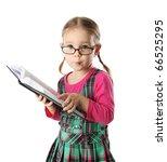 Cute preschool age girl wearing ...