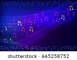 abstract background frame with... | Shutterstock .eps vector #665258752