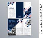 brochure design  brochure... | Shutterstock .eps vector #665259166