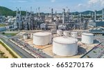 Petrochemical Plant On Blue Sk...