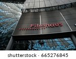 berlin  germany   june 19  2017 ... | Shutterstock . vector #665276845