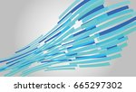 vector illustration of abstract ... | Shutterstock .eps vector #665297302