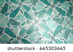 abstract background and pattern ... | Shutterstock . vector #665303665
