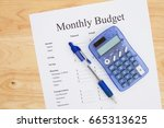 Creating A Monthly Budget  A...