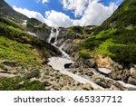 The Great Siklawa Waterfall On...