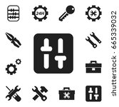 set of 12 editable mechanic...