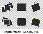 collage of realistic photo...   Shutterstock .eps vector #665387446