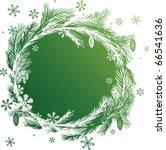 christmas grunge vector banners.... | Shutterstock .eps vector #66541636