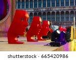 venetian carnival february 24 ...   Shutterstock . vector #665420986