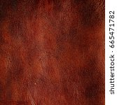 background of brown leather.... | Shutterstock . vector #665471782