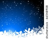blue abstract christmas... | Shutterstock .eps vector #66548908