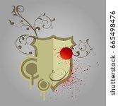 design elements | Shutterstock .eps vector #665498476