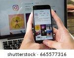 chiang mai  thailand   june 24  ... | Shutterstock . vector #665577316