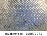 close up crystal glass... | Shutterstock . vector #665577772