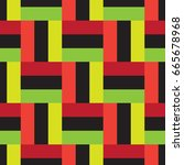 colored squares | Shutterstock .eps vector #665678968