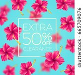 extra clearance   background... | Shutterstock .eps vector #665709076