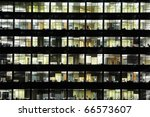 window of the multi storey... | Shutterstock . vector #66573607