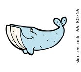 whale cartoon | Shutterstock .eps vector #66580756