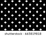 ornament with elements of black ... | Shutterstock . vector #665819818