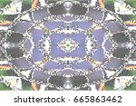 mosaic colorful pattern for... | Shutterstock . vector #665863462