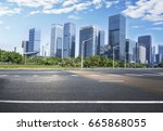city road  | Shutterstock . vector #665868055