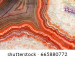 red agate mineral | Shutterstock . vector #665880772