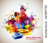 mountain gifts | Shutterstock .eps vector #66589750