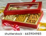indian festival dipawali... | Shutterstock . vector #665904985