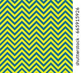 blue and yellow chevron pattern ...   Shutterstock .eps vector #665915926