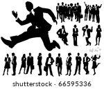 business people | Shutterstock .eps vector #66595336