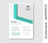 template design brochure ... | Shutterstock .eps vector #665955472