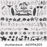 Summer Vintage Silhouettes And...