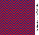 red and blue chevron pattern...   Shutterstock .eps vector #666006346