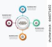 modern infographic options... | Shutterstock .eps vector #666071602