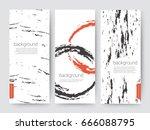 branding packaging brush... | Shutterstock .eps vector #666088795