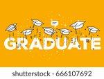 vector illustration of word...   Shutterstock .eps vector #666107692