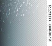 stock vector illustration rain  ... | Shutterstock .eps vector #666117706