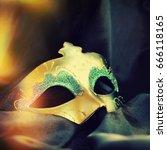 carnival mask | Shutterstock . vector #666118165