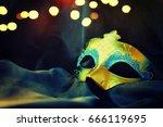 carnival mask | Shutterstock . vector #666119695