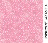 Pink Polka Dot Watercolor Pape...