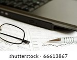 analysis of financial reports.