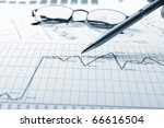 charts and graphs of sales   a...   Shutterstock . vector #66616504
