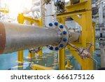 differential pressure meter... | Shutterstock . vector #666175126